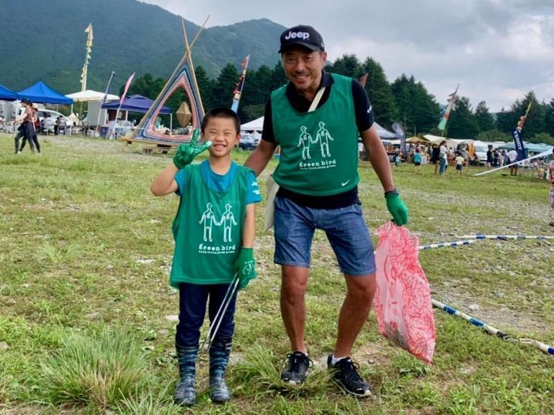 「Feel EARTH 2019 with Jeep® Festival」で出張おそうじ!画像